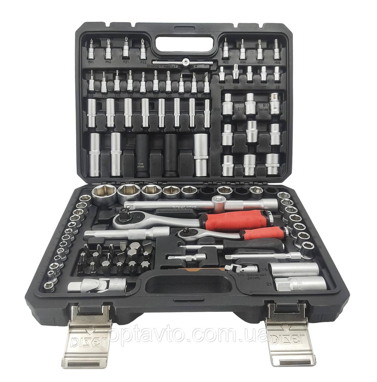 Качественный набор инструментов 110 предметов DIZEL DZ-110