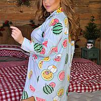 Жіноча красива піжама ночнушка і халат оксамитова батал 50 52 54 розміри є кольори
