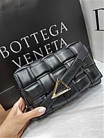 Сумка-клатч Bottega Veneta Black Черная