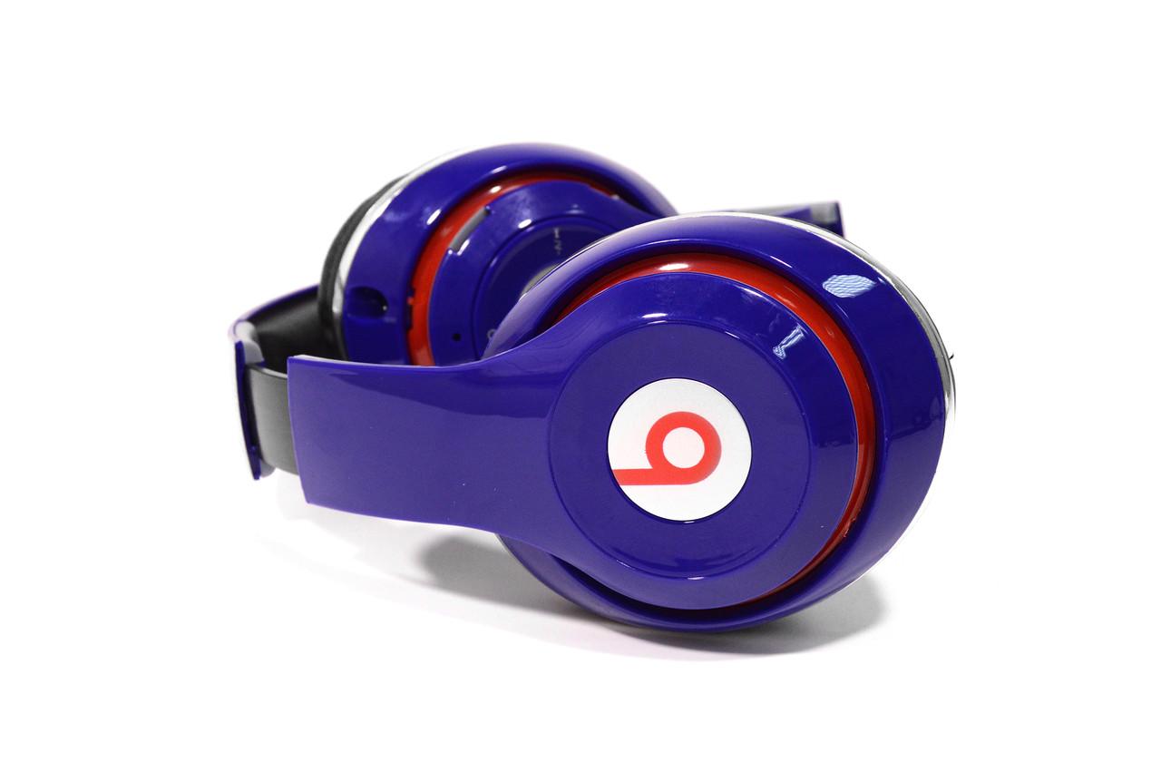 Наушники беспроводные Beats Studio TM-010 Bluetooth (by Dr. Dre) синие