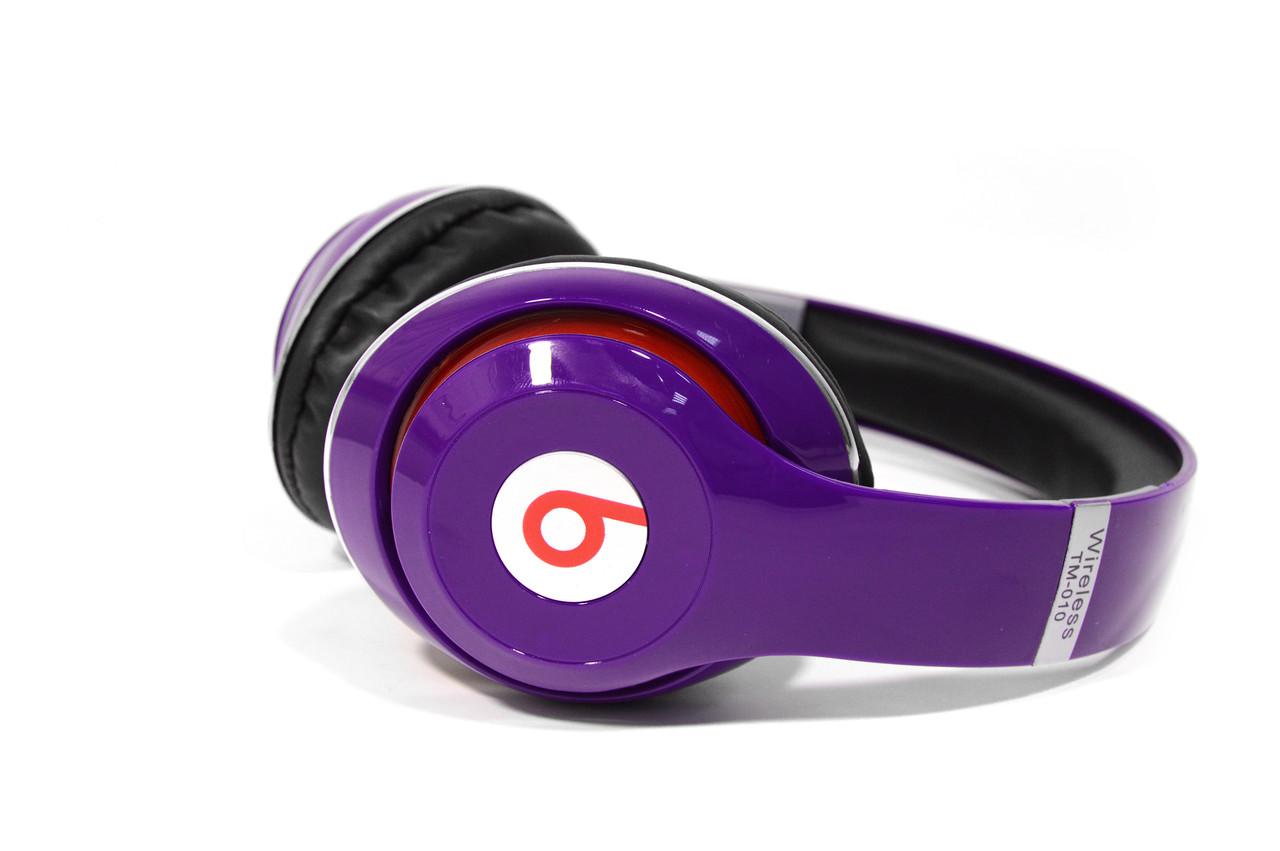 Наушники беспроводные Beats Studio TM-010 Bluetooth (by Dr. Dre) фиолетовые