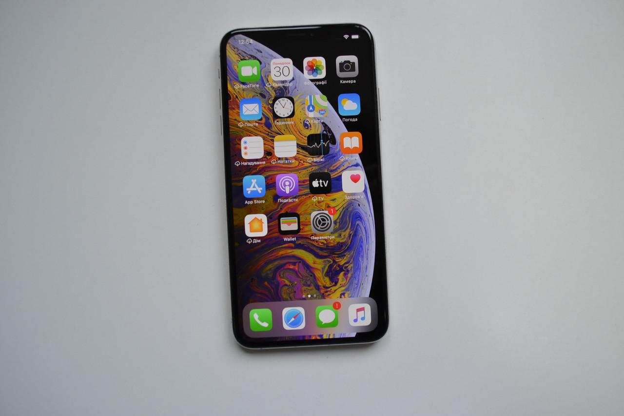 Apple Iphone XS Max 64Gb Silver Unlocked Оригинал!