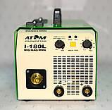 Зварювальний інверторний напівавтомат Атом I-180L MIG/MAG, фото 2