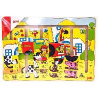 Развивающая игрушка Goki Наша ферма (57596)