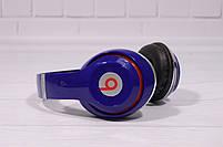 Наушники беспроводные Beats Studio TM-010 Bluetooth (by Dr. Dre) синие, фото 2