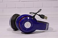 Наушники беспроводные Beats Studio TM-010 Bluetooth (by Dr. Dre) синие, фото 9