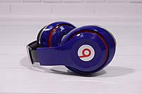 Наушники беспроводные Beats Studio TM-010 Bluetooth (by Dr. Dre) синие, фото 6