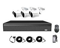 Комплект AHD видеонаблюдения на 3-и уличные камеры CoVi Security AHD-3W KIT