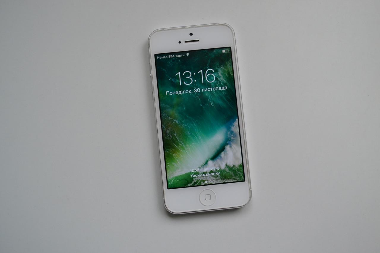 Apple Iphone 5 32Gb White Neverlock Оригинал!