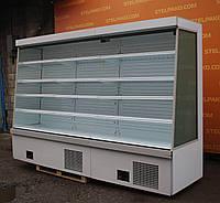 Холодильная горка (регал) «Айсберг Медуза ES SLIM S CUBE» 3.2 м., 2014 года выпуска, Б/у, фото 1