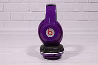 Наушники беспроводные Beats Studio TM-010 Bluetooth (by Dr. Dre) фиолетовые, фото 2