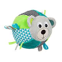 Canpol babies плюшевий сенсорний м'яч з дзвіночком BEARS, фото 1