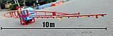 Опрыскиватель навесной Wirax 300л./10м. Польша, фото 2