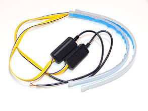 Вогні денні ходові ZIRY DRL EXT 30cm w/y з вказівником повороту, гнучкі