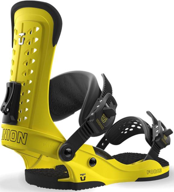 Отличные желтые крепления для сноуборда Union Force