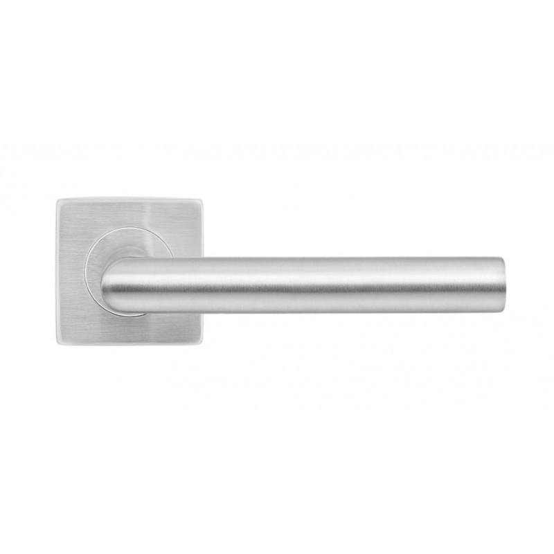 Дверная ручка на розетке MVM S-1136 SS (нержавеющая сталь)