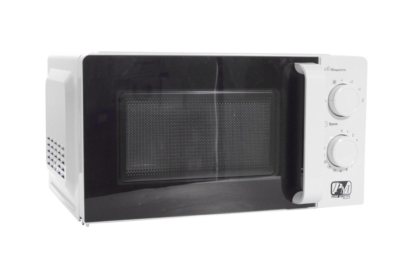 Микроволновая печь Promotec PM 5530 (1200 Вт / 20 л) Белая (микроволновка Промотек)