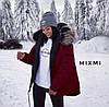 Модная женская зимняя парка с мехом, фото 3