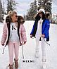 Модная женская зимняя парка с мехом, фото 5