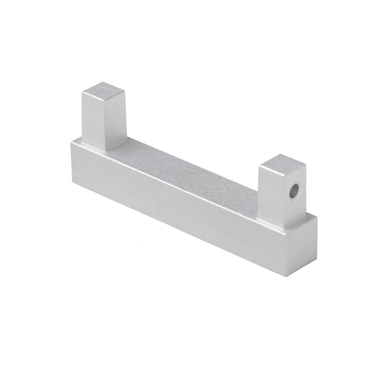 Заглушка для плінтуса алюмінієва 40 мм Profilpas 89/4 (89/ЕІ)