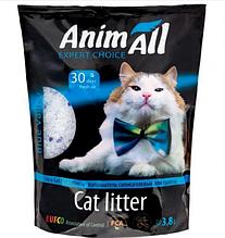 Сілікагелевой наповнювач AnimAll Кристали аквамарина для котів 3.8 л (1.6 кг)