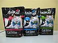 Силикагелевый наполнитель AnimAll Голубой Аквамарин для котов 3.8 л (1.6 кг), фото 2
