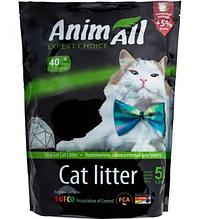Силикагелевый наполнитель AnimAll Кристаллы изумруда для котов 5 л (2.1 кг)