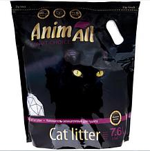 Силикагелевый наполнитель AnimAll Premium Фиолетовый Аметист для котов 7.6 л (3.2 кг)