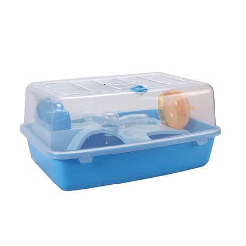 Клетка для хомяка AnimAll P-1191 41×30×21 см голубая