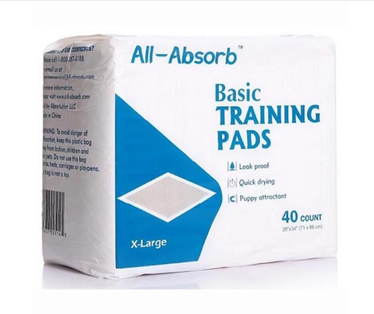 Пеленки All-Absorb Basic для собак 71х86 см 40 шт