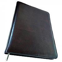 Папка портфель для документов кожаная Дорожка Коричневая 6153, КОД: 1890047