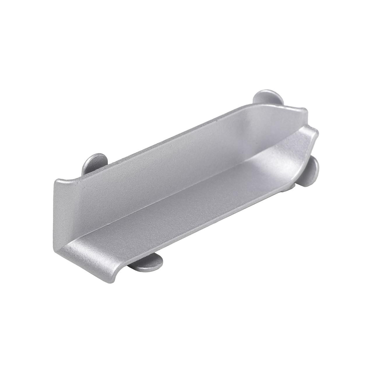 Внутрішній куточок алюмінієвий для плінтуса серії 90/6 Profilpas (90/I) висота 60 мм