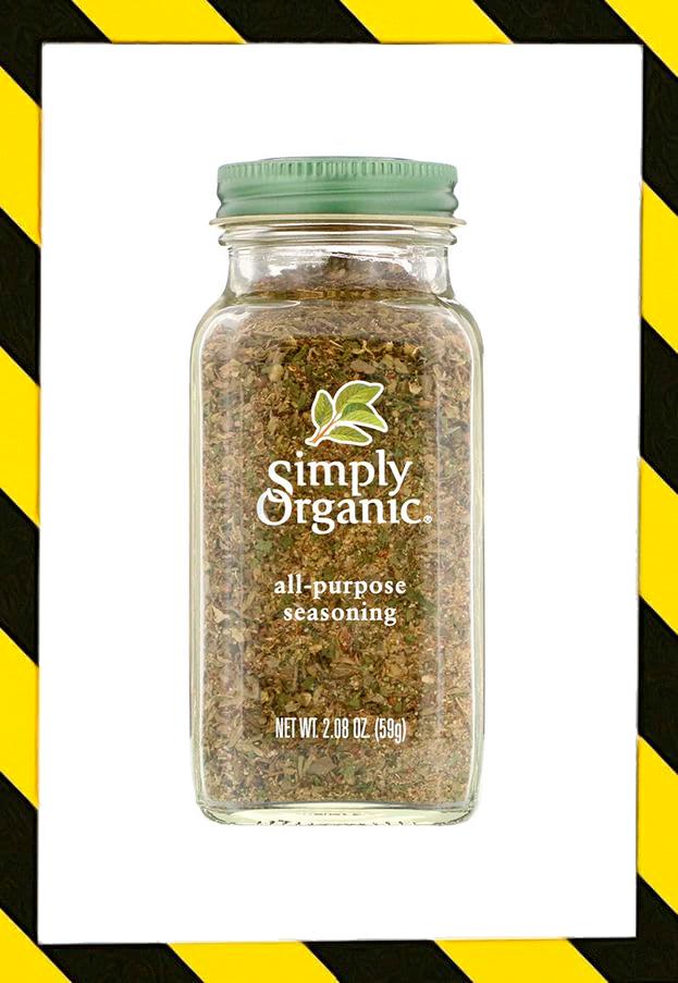 Simply Organic, Ораническая Универсальная приправа, сделано в США (59 г)
