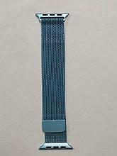 Ремешок Apple Watch Milanese loop 42/44mm Denim Blue
