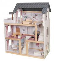 Кукольный домик трехэтажный дом для маленькой куклы AVKO Вилла Толедо, фото 1