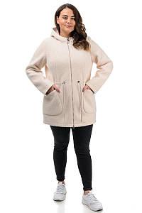 Куртка Альпака , демисезон, бежевая (50,52,54,56)