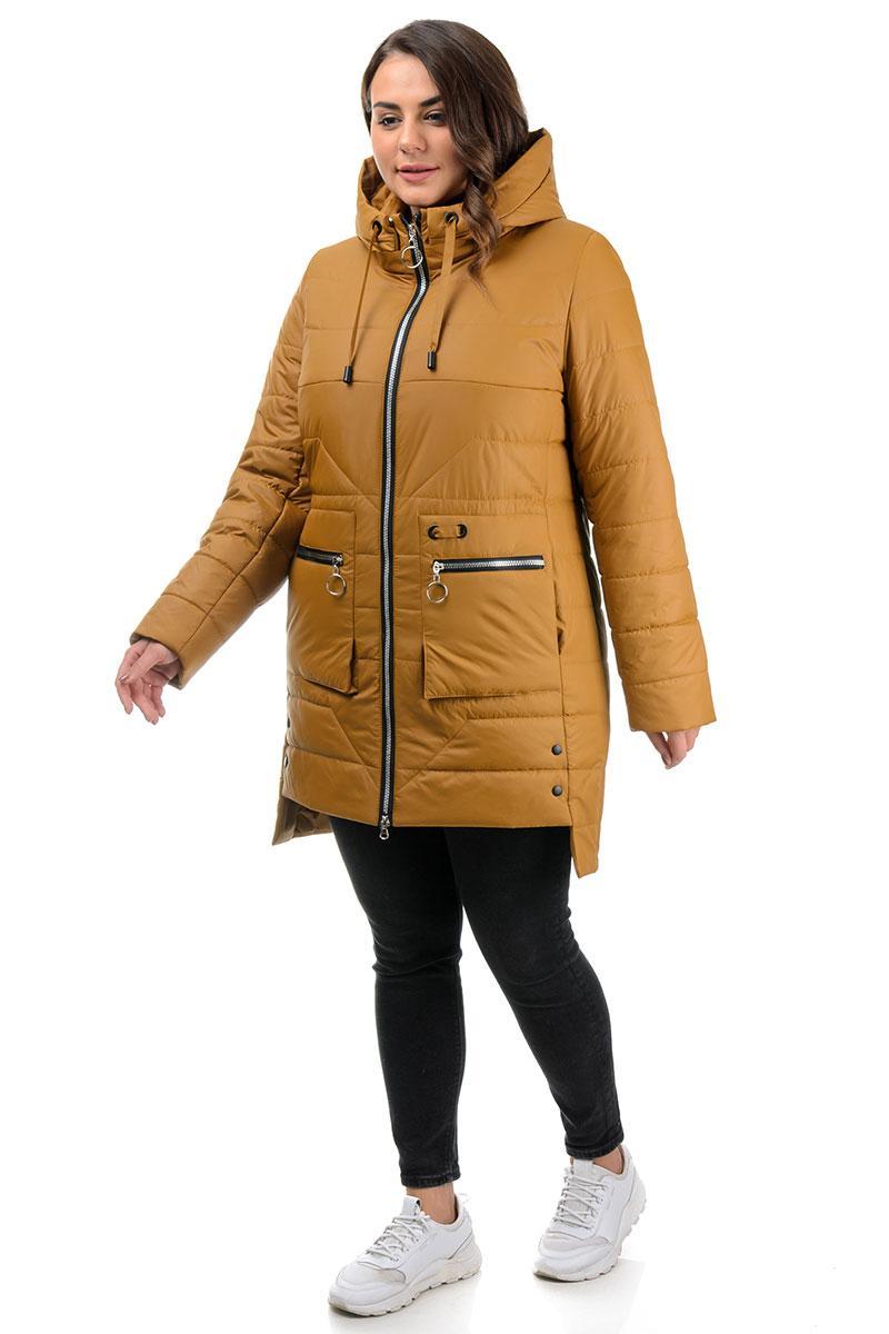 Куртка демисезон, женская  желтая (48,50,52,54,56,58р)