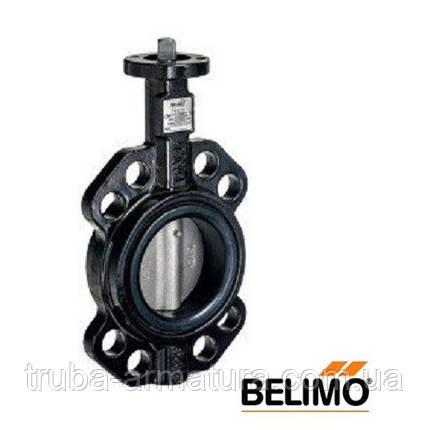 Затвор Баттерфляй Belimo D632N ДУ 32 з диском з нержавіючої сталі, фото 2