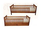Кровать детская с бортиком Юниор Микс Мебель, фото 2