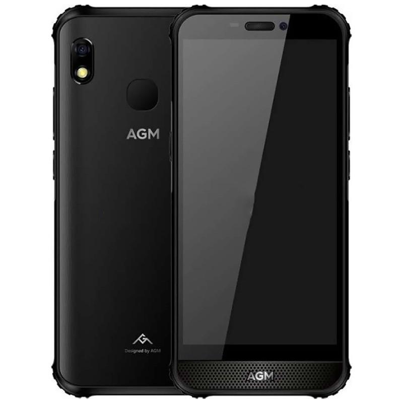 "Смартфон AGM A10 Black диагональ 5.7"" защищенный 4/64GB 1440х720 камера 13+8Мп Батарея 4400 мАч Android 9.0"