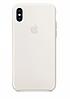 Чехол Silicone Case для Apple iPhone X / XS Antique White