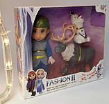 """Кукла в наборе для девочки """"Холодное Сердце"""", игрушка Олень Свен и снеговик Олаф Disney Frozen Н3, фото 2"""