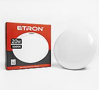 Світильник LED 20W ЖКГ ETRON Communal 1-ЕСР-506-C 5000К circle світлодіодний стельовий накладний круглий