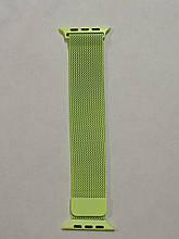 Ремешок Apple Watch Milanese loop 38/40mm IBIZA Yellow