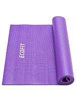 Коврик для фитнеса фиолетовый 1730*610*4мм Ecofit MD9010 4mm