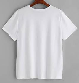 Розмірна сітка для БІЛИХ футболок