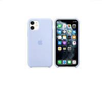 Чехол Silicone Case для Apple iPhone 11 Sky blue