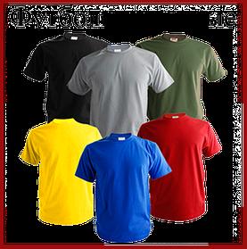 Розмірна сітка для КОЛЬОРОВИХ футболок
