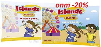 Английский язык / Islands / Pupil's+Activity Books+Pincode. Учебник+Тетрадь (комплект), Starter/ Pearson
