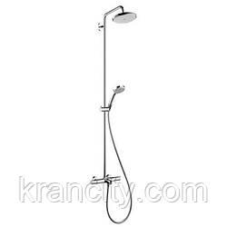 Душевая система Hansgrohe Croma Showerpipe 220 27223000